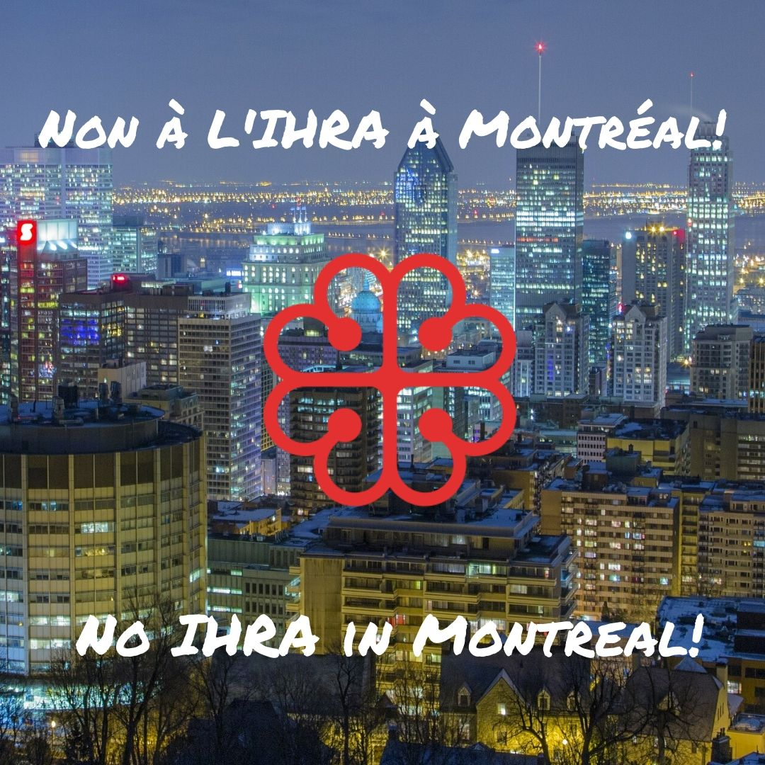 No IHRA in Montreal!
