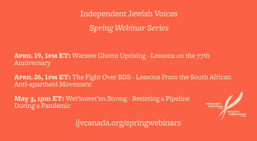 IJV Spring Webinar Series