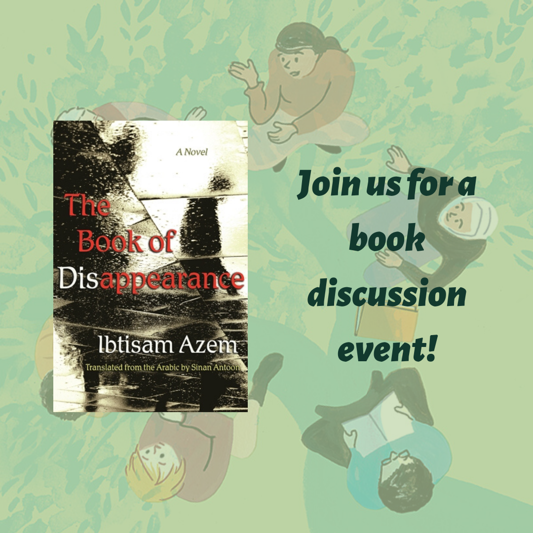 One Book, Many Communities – A book talk with Ibtisam Azem