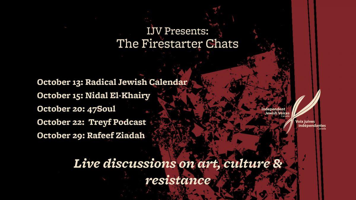 IJV Presents: The Firestarter Chats