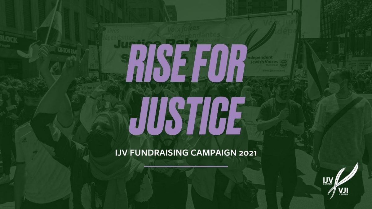Rise for Justice: IJV's 2021 Fundraising Campaign